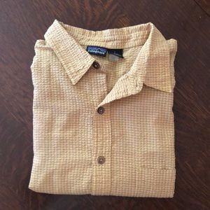 Patagonia Button-up short sleeve (L)